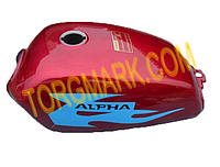 Бак топливный, для мопеда Альфа (ALPHA)