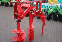 Бур навесной к трактору - 3 шнека (50 см, 25 см, 18 см) (Польша)