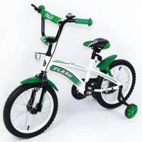 Велосипед детский спортивный  Tilly Trike, FLASH 16 дюймов зеленый