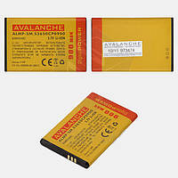 Батарея (аккумулятор) Avalanche для Samsung S5610/S5611/S5620 Monte (900 mAh), оригинал