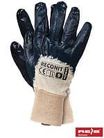Рабочие перчатки из нейлона и нитрила, 10 размер, Польша