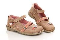 Туфли темно-бежевые 28 (Д)