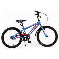 Велосипед детский спортивный  Tilly Trike, FLASH 20 дюймов синий с красным