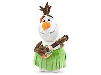 Мягкая плюшевая игрушка поющий Олаф Алоха Дисней
