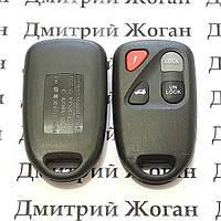 Корпус пульта Mazda (Мазда) 3 кнопки + 1