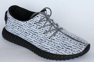 Женские кроссовки белые с черной подошвой