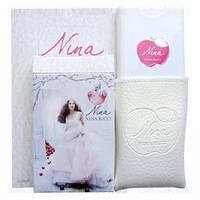 Мини парфюм в кожаном чехле 20мл Nina Ricci Nina (red apple)