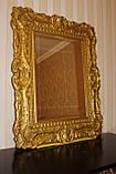 Код М-005.2. Зеркало в деревянной резной раме в классическом стиле, фото 2