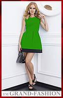 Платье ~Одри~ зеленый