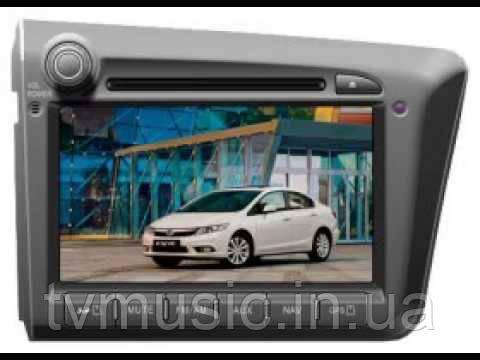 Штатная автомагнитола PHANTOM DVM-1333G i6 (Honda Civic)