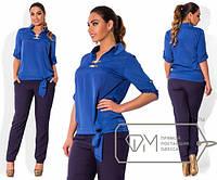 Модный женский костюм 48 50 52 54 размер