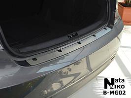 Накладки на пороги Premium MG 6 2012-