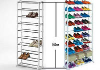 Органайзер полка для обуви Amazing shoe rack (полочка на 30 пар обуви Эмейзинг шу рек)