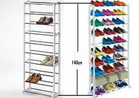 Органайзер полка для обуви Amazing shoe rack (полка на 30 пар обуви Эмейзинг шу рек), фото 1