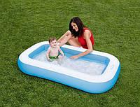"""Детский надувной бассейн """"Прямоугольный"""" Intex 57403,163смх100смх28см"""