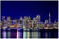 Схема для вышивания бисером Серия огни ночного города Сан-Франциско КМР 2130