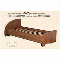 """Кровать односпальная, кровать для одного человека """"V-7"""""""