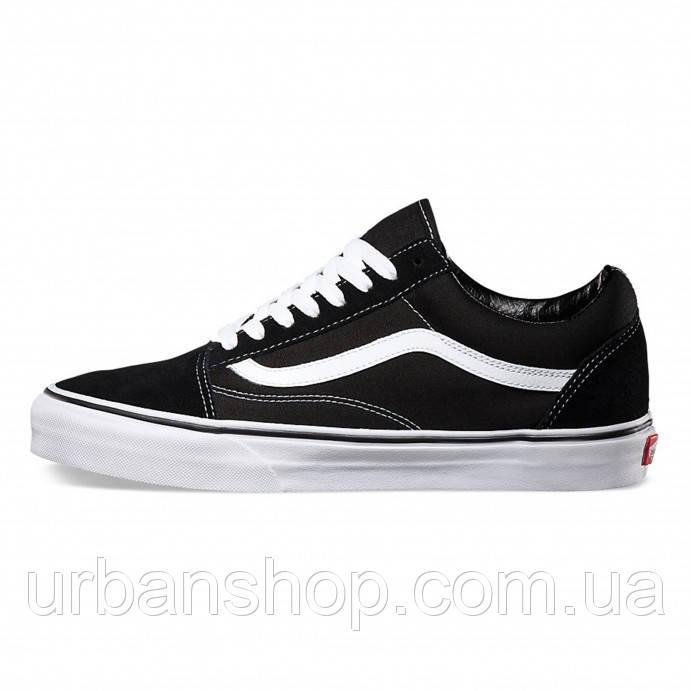 Кеди Vans Old Skool Black White 4c5a85dc85275