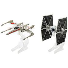 Игровой набор из 2 звездолётов Hot Wheels серии Звёздные войны
