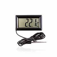 Цифровой LCD термометр -50°C-+110°C с выносным водостойким датчиком (Польша)