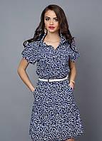 Легкое летнее платье из креп-шифона