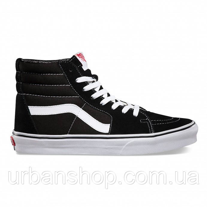 Кеди Vans SK8-HI Black/White