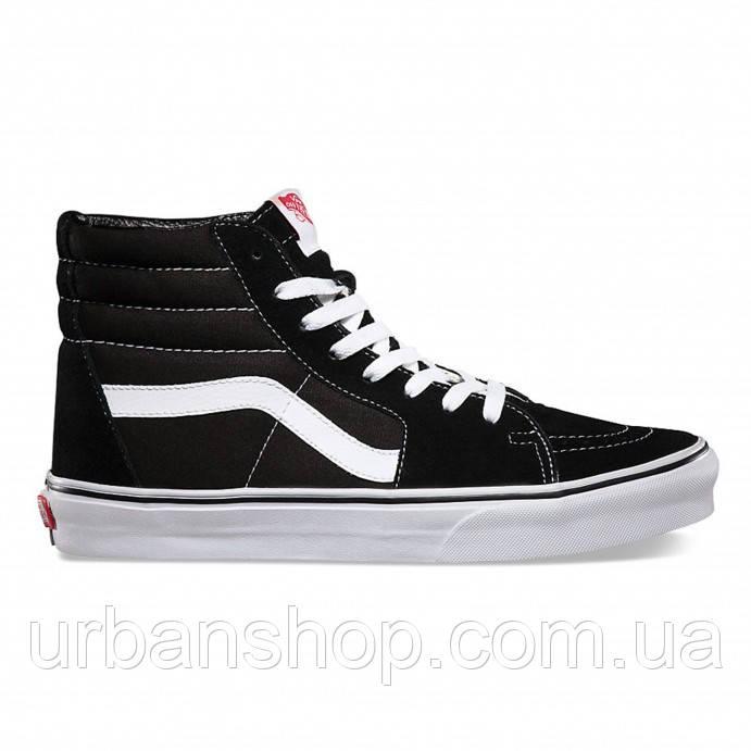 Кеди Vans SK8-HI Black White - UrbanShop в Львове 2b14506fc5078