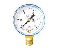 Манометры для газовых редукторов