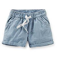 Шорты джинсовые Carters для девочки, фото 1