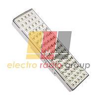 EL 18 аккум.светильник 80 LED белый DC (см 30*9*5.4)