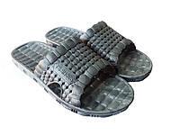 "Летний мужской тапочек ""TS Shoes"" серый"