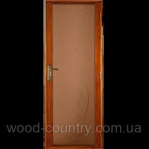 Межкомнатная деревянная дверь «Comfort PALISANDER»