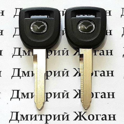 Корпус авто ключа под чип для Mazda (Мазда) с лезвием MAZ24R, фото 2