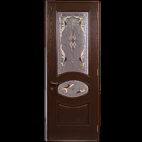 Межкомнатная деревянная дверь «Александрия» WENGE