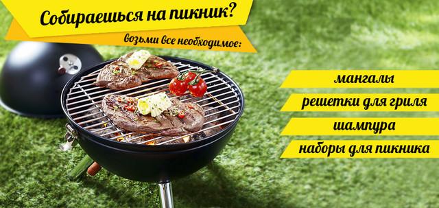 купить мангал и шампуры Украина