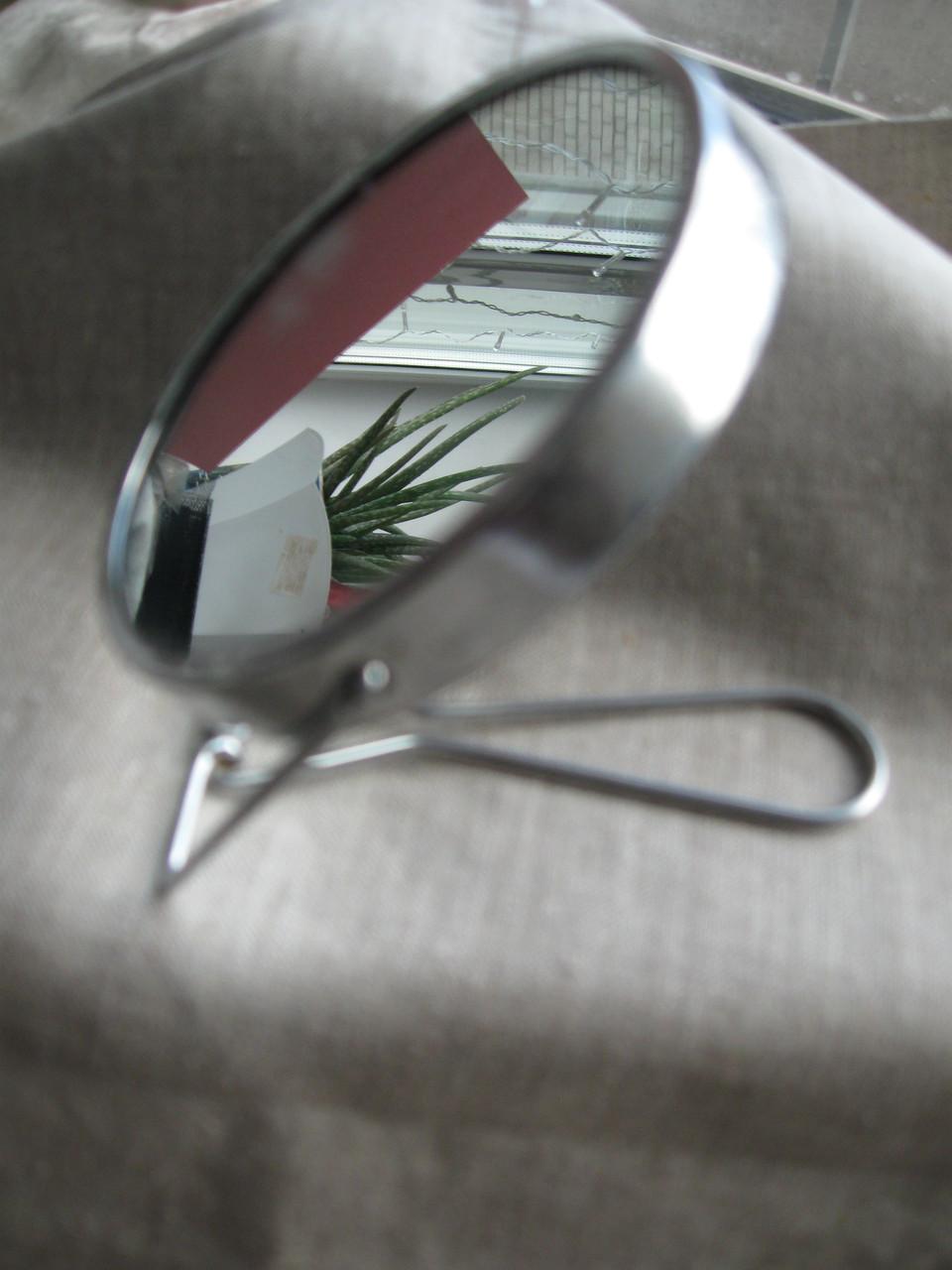 Зеркало настольное двухсторонее