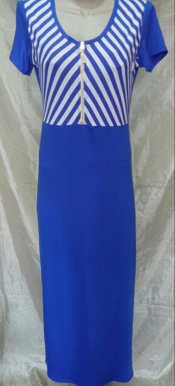 Платье длинное женское (вискоза)