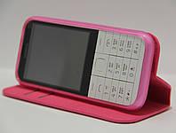 Чехол-книжка для телефона Nokia 225 Розовый, фото 1