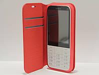 Чехол-книжка для телефона Nokia 225 Красный, фото 1