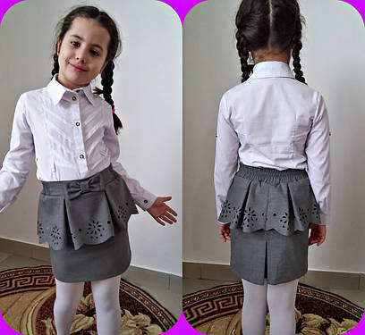 Детская юбка №8-556