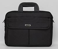 Практическая и вместительная мужская сумка на плечо. Сумка для документов, ноутбука. Оригинальная. Код: КДН24