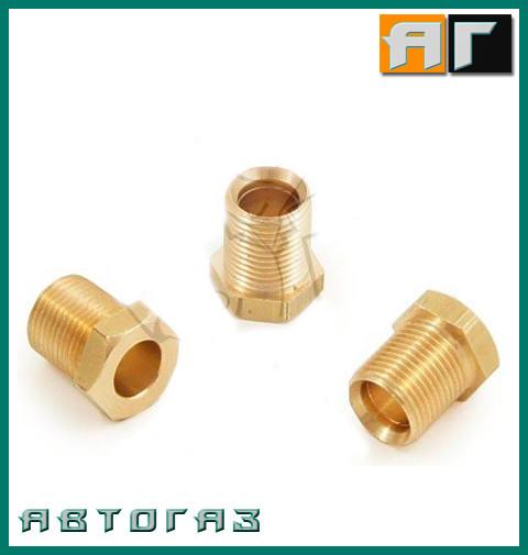 Зажим, бурулька  медной трубки на 8мм. M14 fi8 GZ-239