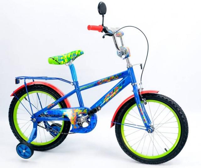 Дитячий велосипед для хлопчика