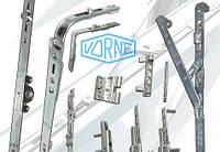 Замена фурнитуры окна Vorne, замена оконной фурнитуры