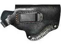 Кобура пистолетная поясная MAS 007 со скобой (кожа).