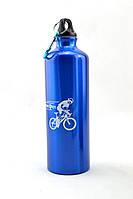 Вело фляга питьевая (алюминиевая)