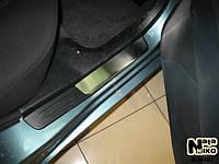 Накладки на пороги Premium Mitsubishi Lancer IX 2000-2006