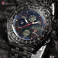 Мужские часы SHARK MENS DIGITAL LUXURY ARMY SPORT STAINLESS STEEL 6 COLORS QUARTZ WRIST WATCH