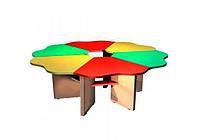 Столик для детского сада 6-секционный