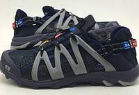 Кроссовки беговые мужские Salomon темно-синее